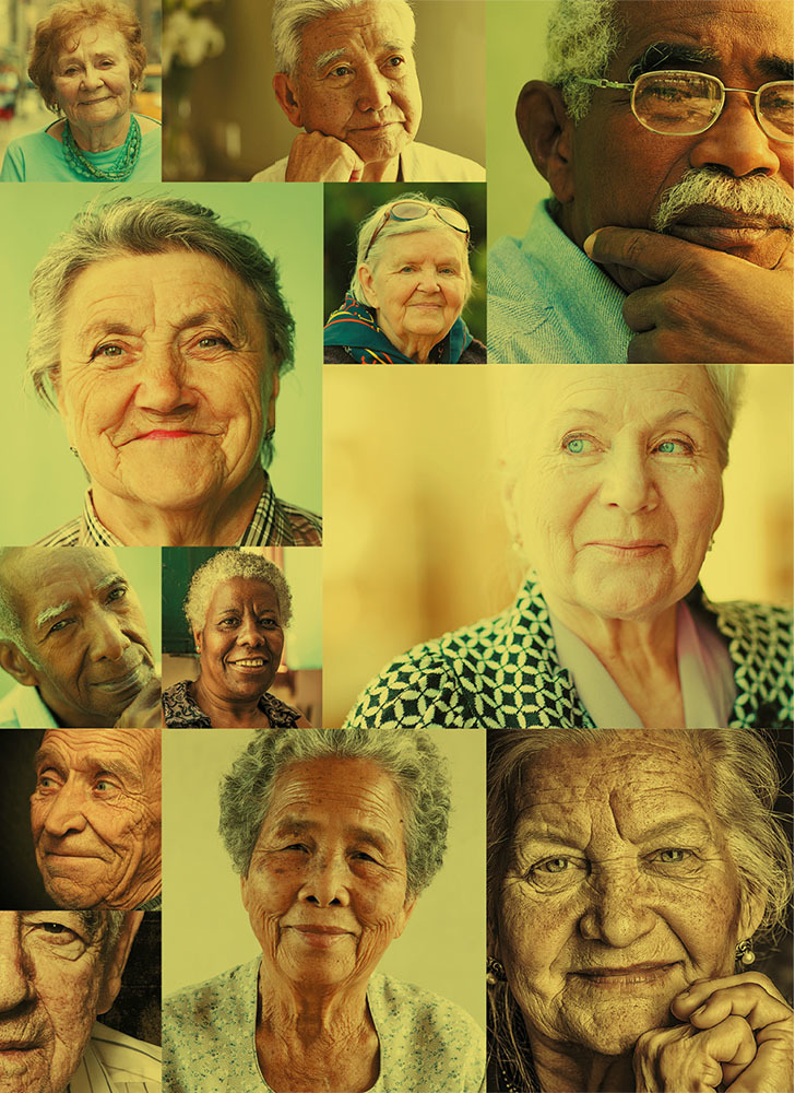 the beautiful grace of aging, community and friends