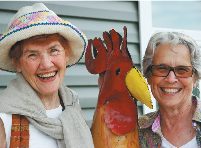 friends kathleen gow and maxine hancock